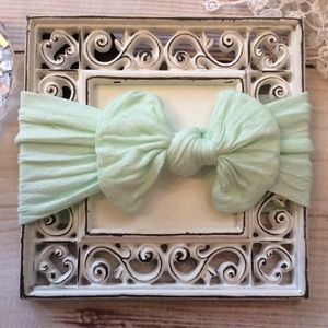 Other - Boutique Baby Girls Mint Green Headband